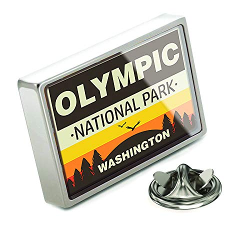(NEONBLOND Lapel Pin National Park Olympic)