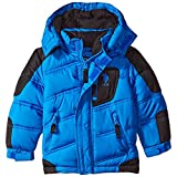 U.S. Polo Assn. Boys' Bubble Jacket (More Styles Available), Authentic Blue, 2T