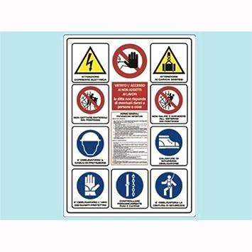 Cartel para obras de construcción de doce normas de ...