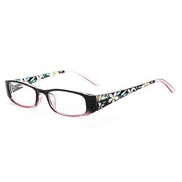 95deaaf5592 SUERTREE Fashion Reading Glasses Women Men Spring Hinge Anti Glare Comfort  Computer Glasses BM802 (1.0