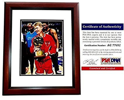 4cc3a5f147f Image Unavailable. Image not available for. Color  Steve Kerr Signed -  Autographed ...