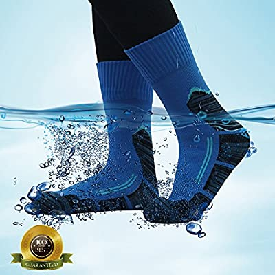 100% Waterproof Running Socks, RANDY SUN Unisex Mid-Calf/Ankle Sock XS-L: Sports & Outdoors