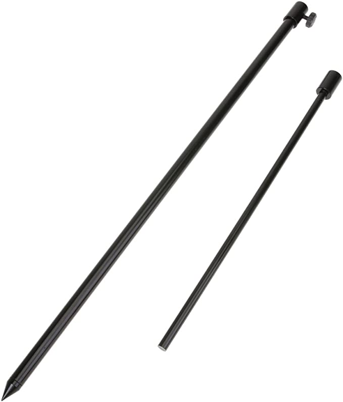 6 x Stainless Steel Bank Stick 120cm Bank Stick Rod Holder Stand Rod Rest rodpod