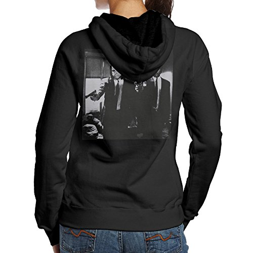 UFBDJF20 B00QHOTA9U-Pulp Fiction Vincent And Jules Pullover Hood For Women S Black (Pulp Fiction Vincent Costume)