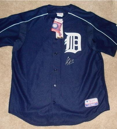 Curtis Granderson Autographed Jersey (tigers) W/Proof! - Autographed MLB Jerseys