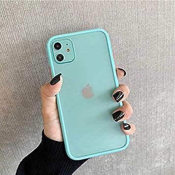 SHISI La Caja del teléfono Sencillo Mate de Parachoques for iPhone ...
