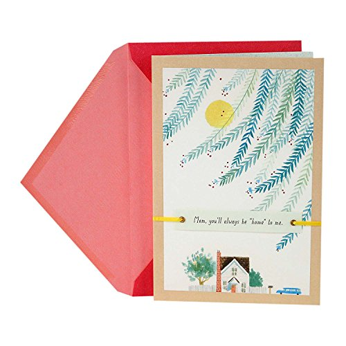 Price comparison product image Hallmark Mother's Day Greeting Card for Mom (Home Will Always Be Where You Are)