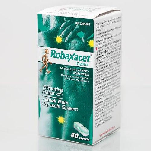 Relaxant musculaire et analgésique Robaxacet 40 Cap - Le Pain Away Boutique navires Immédiatement partir de l'Illinois!