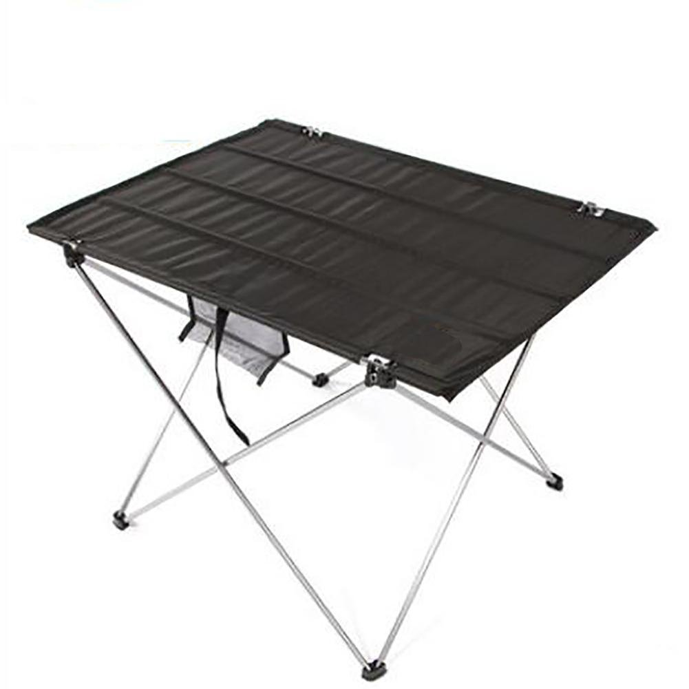 GUO Oxford tissu tables de pique-nique tables portables en aluminium de camping en plein air pliable