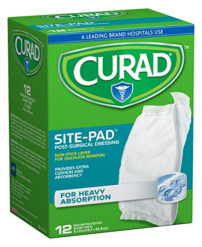 Curad Sitepad Inches 12 Count Pack