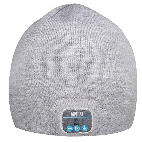 AUGUST EPA20 – Bluetooth Headphone Hat - Winter Beanie Ha...