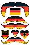 StacheTATS Germany Temporary Mustache Tattoos