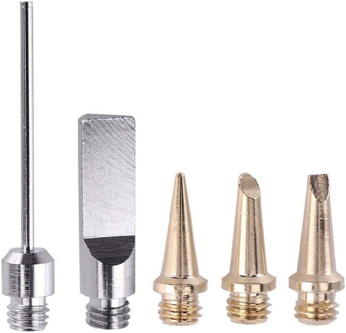 minansostey5pcs//set Nozzles for HS-1115K Gas Soldering Iron Cordless