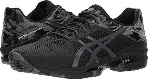 ASICS  Men's Gel-Solution Speed 3 L.E. Black/Dark Grey/Phantom 6.5 D US (Cross Training Shoes Reviews)