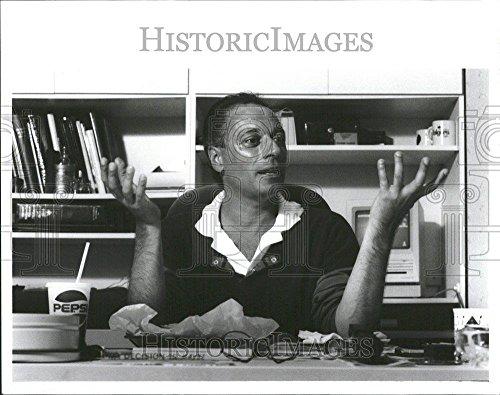 1990 Press Photo Dancer Dennis Nahat Ballet Jose Valley - RRT13023