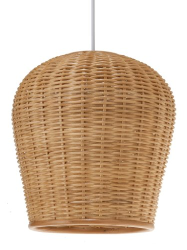 Natural Woven Pendant Light - 7
