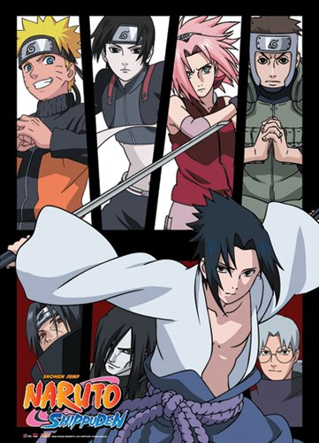 Great Eastern Entertainment Naruto Shippuden Group Wall Scro
