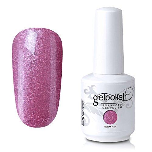 - Elite99 Soak-Off UV LED Gel Polish Nail Art Manicure Lacquer Light Pink 734 15ml