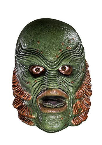 HalloweenMasks Deluxe The Creature from the Black Lagoon Mask Standard]()