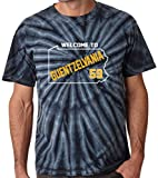"""The Silo TIE DIE Black Pittsburgh Guentzel """"Welcome"""" T-Shirt"""