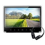 Alondy 11.6 Inch Car Headrest DVD Player for Kids,1920x1080P Full HD LCD Screen Monitor, DVD/USB/SD/HDMI/AV-in&AV-Out Ultra Thin Digital with IR/FM Headphone