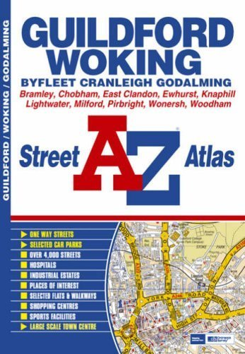 Guildford & Woking Street Atlas by Geographers A-Z Map Company - Store Guildford 3