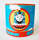 LAMPSHADE MADE WITH THOMAS THE TANK PAPER