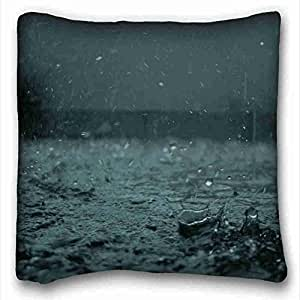 Generic Personalized Nature Custom Cotton & Polyester Soft Rectangle Pillow Case Cover 16x16 inches (One Side) suitable for X-Long Twin-bed