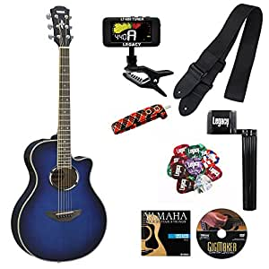 yamaha apx500iii thinline acoustic electric cutaway guitar with legacy accessory. Black Bedroom Furniture Sets. Home Design Ideas