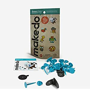 Makedo 2500025 -Kit for fun - Juego Diversión (33 piezas)