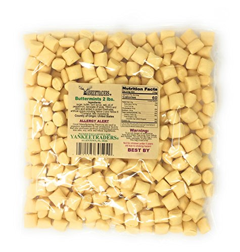 Yankee Traders Brand Classic Butter Mint Candy, 2 Pound]()