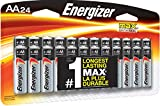 Energizer AA Batteries (24 Count), Double A Max Alkaline Battery - Packaging May Vary