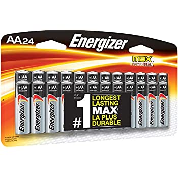 Amazon.com: Energizer AA Batteries (24 Count), Double A