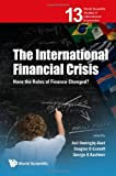 The International Financial Crisis, Asli Demirguc Kunt and Douglas D. Evanoff, 9814322083