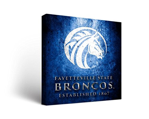 - Victory Tailgate Fayetteville State University Broncos Canvas Wall Art Museum Design (18x24)