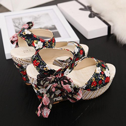 Rubbing Flat Loafers No Bohemian Comfortable Sandals Footwear Foot Shoes Bovake Summer Flip Black Shoes Sandals Slope Printed Sandal Women Flops Toes Lady Wedges Flop Sandals Flip Beach 1BtqtxwTv