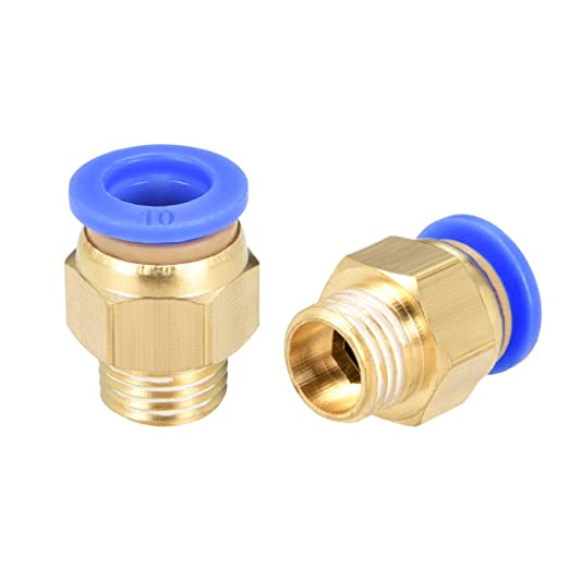 uxcell Push to Connect Tube Fitting Adapter 4mm Tube OD X 1//4 NPT Female Straight Pneumatic Connecter Connect Pipe Fitting 2pcs