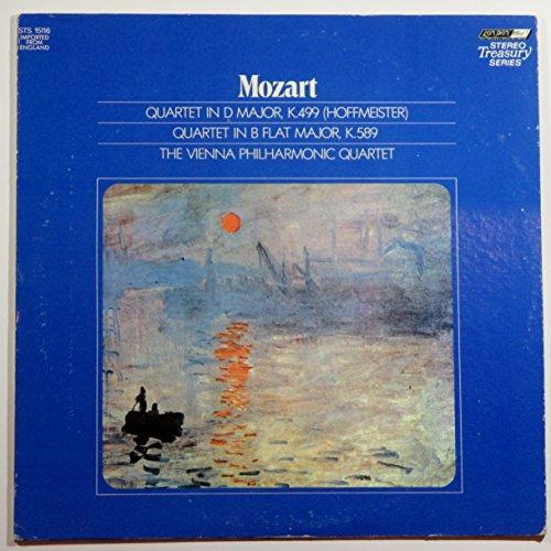 Mozart: Quartet in D Major (Hoffmeister)/Quartet in B Flat Major (2nd Prussian)