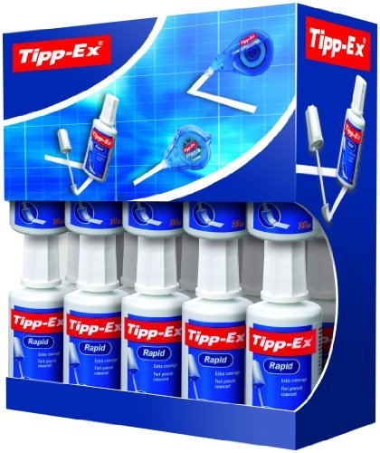 Tipp Ex Rapid Correction Fluid Value Pack (Pack of 20) by Tipp Ex (Image #1)