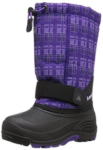 Kamik Kids' Rocket2 Snow Boot, Purple, 6 M US Big - Rocket Kamik