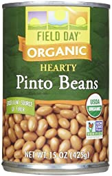 Field Day Organic Pinto Beans, 15 oz, 12 ct