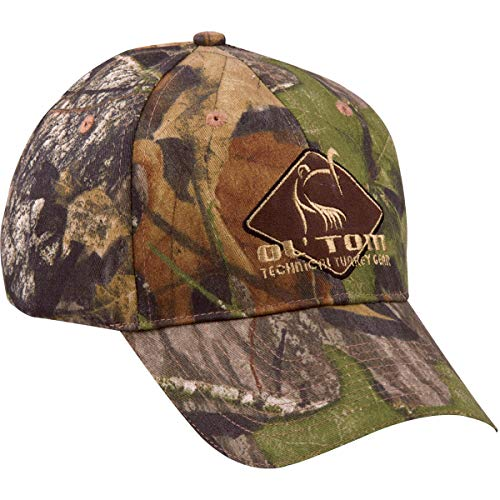 Ol' Tom Drake Camo Cotton Diamond Cap-NWTF Obsession