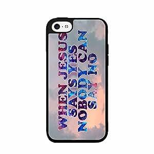 Religious Quote Plastic Phone Case Back Cover iPhone 4 4s