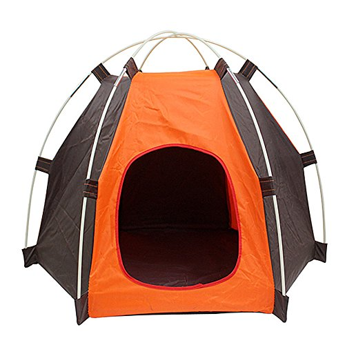 MyLifeUNIT Outdoor Pet Tent, Portable Dog House Pet Camping Tent, Foldable Pet House Tent for Dogs Cats by MyLifeUNIT