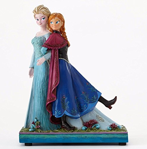 Disney Traditions Frozen Showcase Collection Sisters Forever Elsa & Anna Musical Figurine #4049101 ()