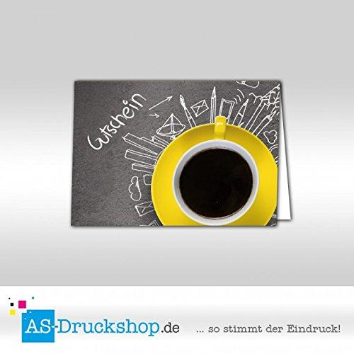 Gutschein Gutschein Gutschein Bäckerei Tasse   100 Stück   DIN A6 B079PZW5XJ | Attraktives Aussehen  75fed5