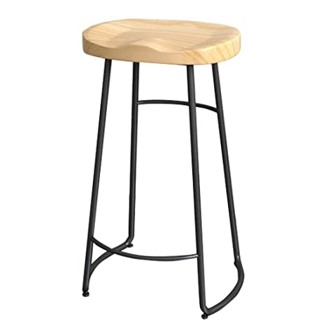Wondrous Amazon Com Retro Bar Stool Solid Wood Kitchen Stool Chair Gmtry Best Dining Table And Chair Ideas Images Gmtryco