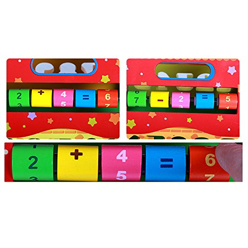 Baby Shape Sorting Houses TelPal Montessori Educational Toy Math Toy for Baby Kid's Gift, Novelty Educational Maths Game Wooden Toys by TelPal (Image #6)