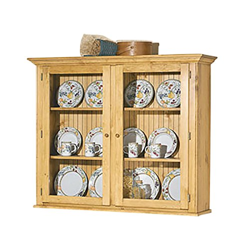 Hutches Heirloom Pine Walden Glass Hutch Top Only ()