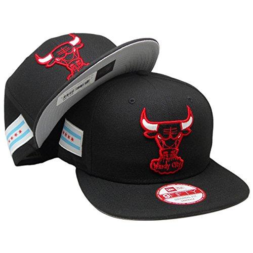 New Era Chicago Bulls City Flag Snapback 9Fifty NBA Hat